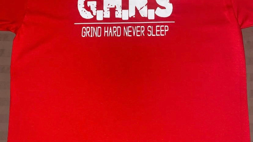 GHNS T-Shirt w/ White Letters