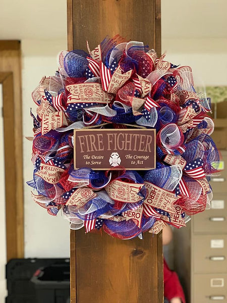 Fire Fighter Floral Bouquet