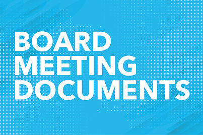 Image saying Board Meeting Minutes that rotates