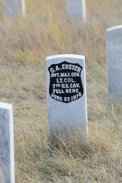 Tony and Cathy Hill visiting Little Bighorn Battlefield