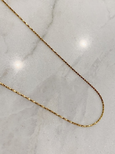 THIN NECKLACE GOLD