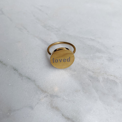 QUOTE RINGS 'LOVED'
