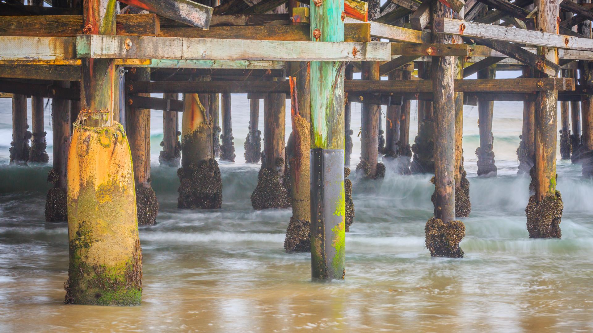 Hidden Colors Under the Pier