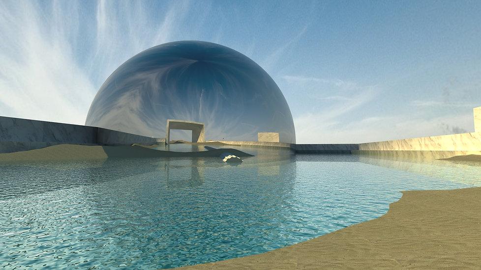La ciudad e los inmortales: digital space concept inspired in Borges story about immortality