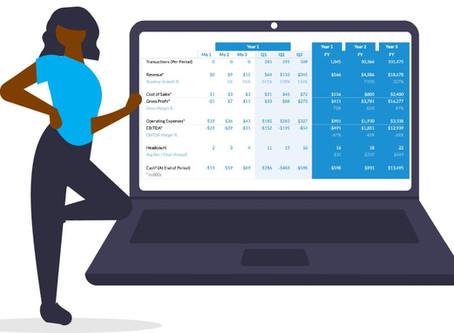 The Best Pitch Deck Financials Slide
