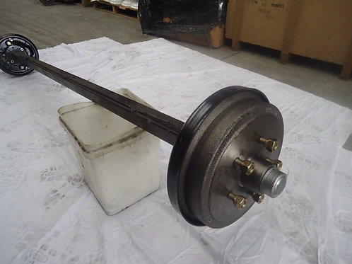 HYDRAULIC DRUM BRAKED AXLE - HT / HQ/ FORD & COMMODORE - COMPLETE & ASSEMBLED
