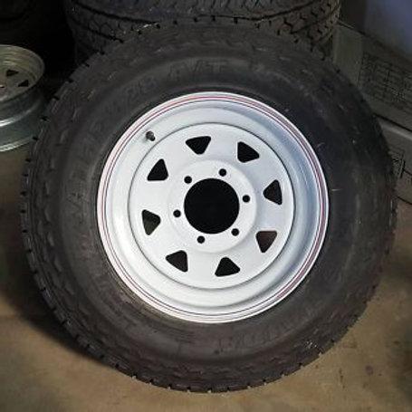 """15"""" Rim & Tyre"""