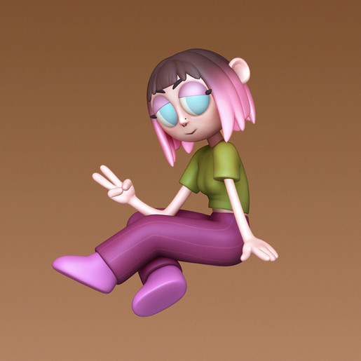 3D model of a friend