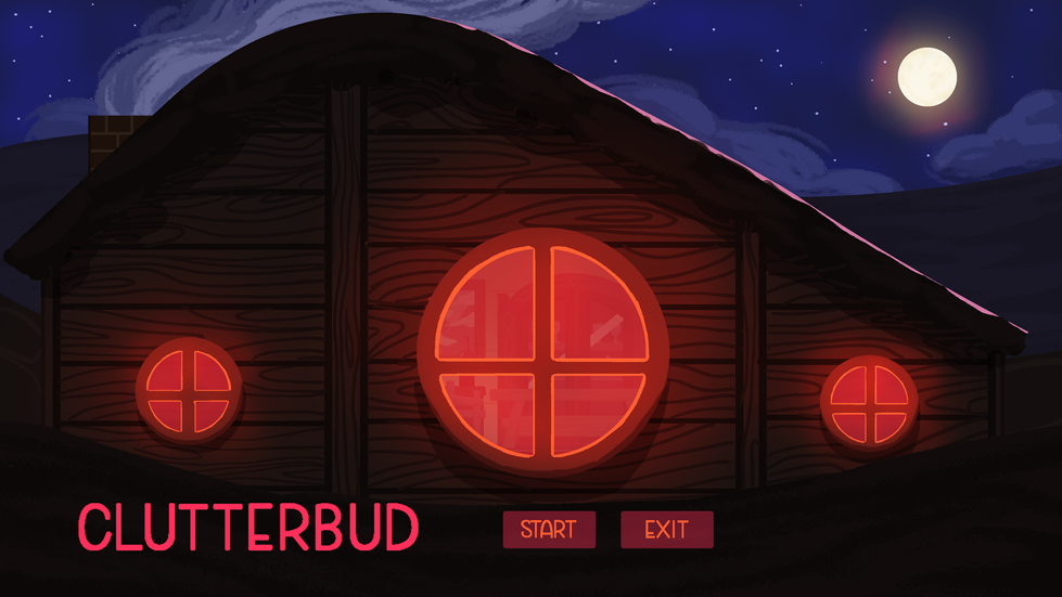 Title Screen Illustrated by me.