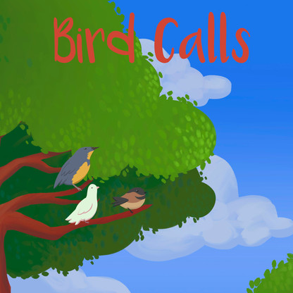 Bird Calls icon illustration by me.
