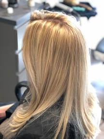 Blonde - Base Color + High lights #lestermiranda