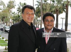 Eusebio with Elias