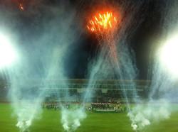 Inauguration of the Elias Figueroa Brander Stadium