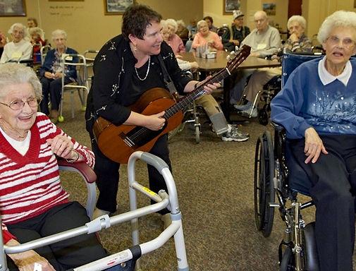 Barbara Lee and guitar