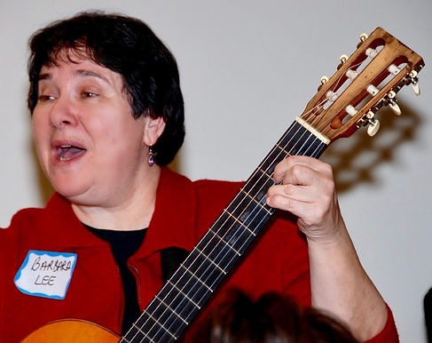 Vocals and guitar for Seniors Special Events