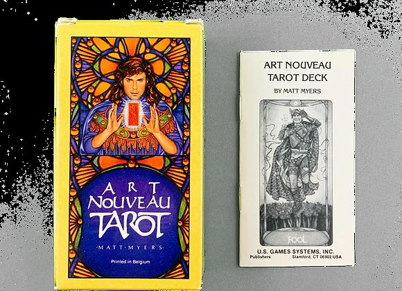 Vintage Art Nouveau Tarot - 1989 - Matt Myers