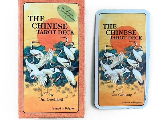 Vintage - The Chinese Tarot Deck - 1989