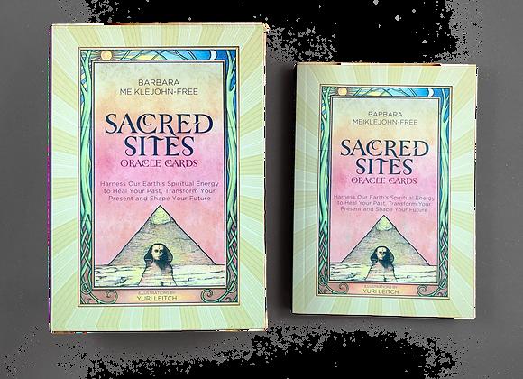 Sacred Sites Oracle Cards - Barbara Mieklejohn-Free