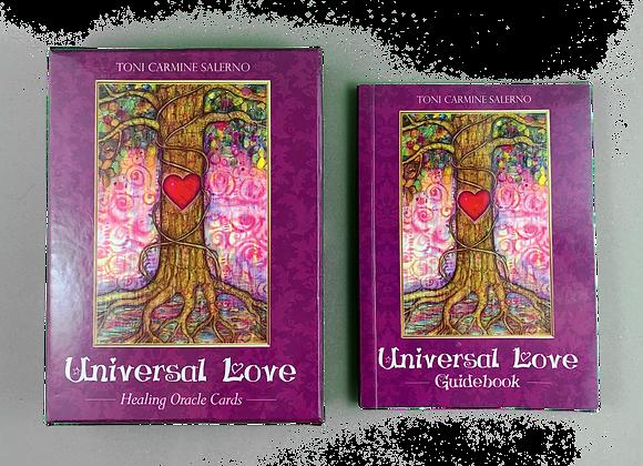 Universal Love Healing Oracle p Toni Carmine Salerno