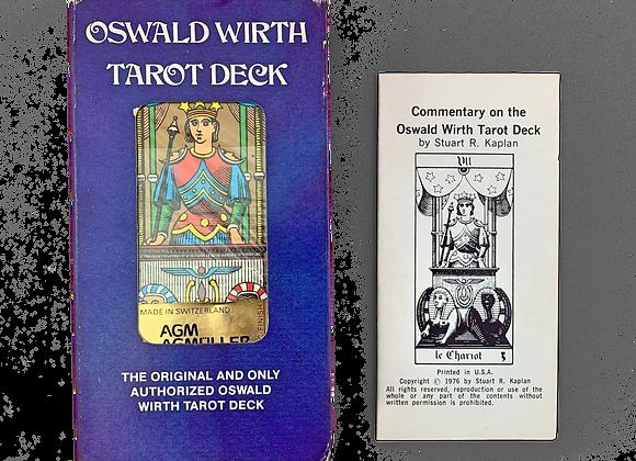 Vintage Oswald Wirth Tarot Deck