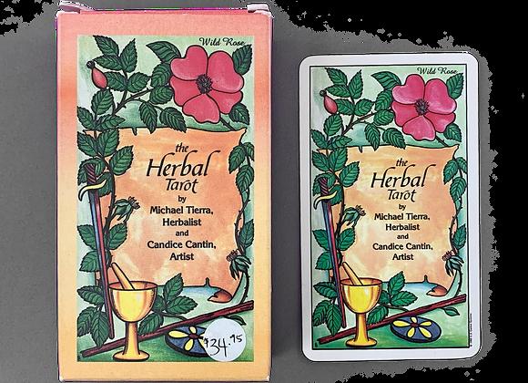 The Herbal Tarot - Michael Tierra