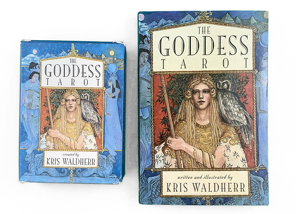 The Goddess Tarot + Guidebook - Kris Waldherr