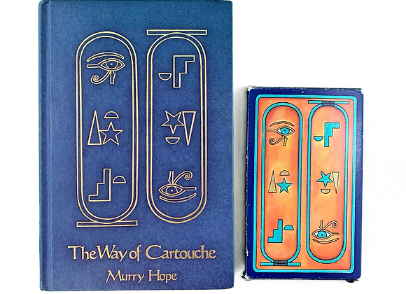 The Way of Cartouche: An Oracle of Ancient Egyptian Magic - Murray Hope