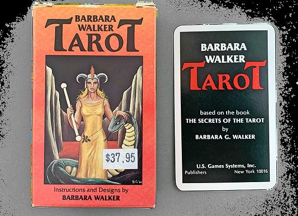 Vintage Barbara Walker Tarot - 1986