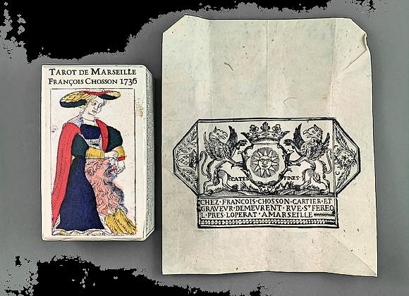 Tarot de Marseille Francois Chosson 1736