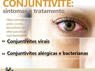 CONJUNTIVITE: Sintomas e Tratamento