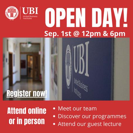 UBI Open Day