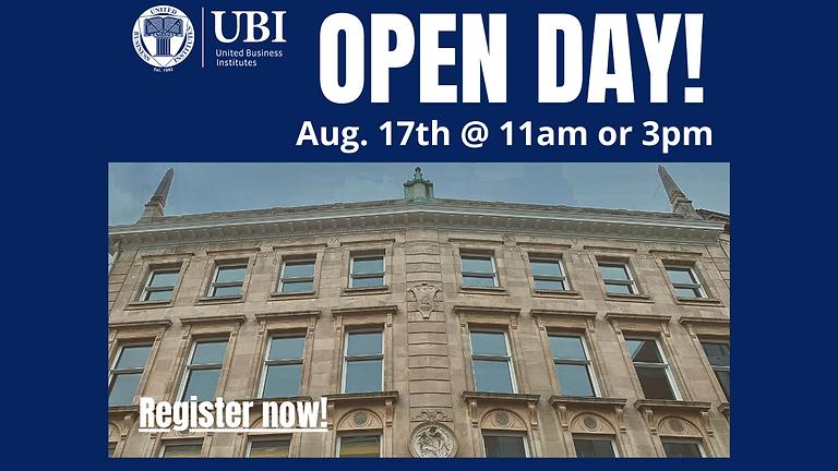Open Day UBI Brussels