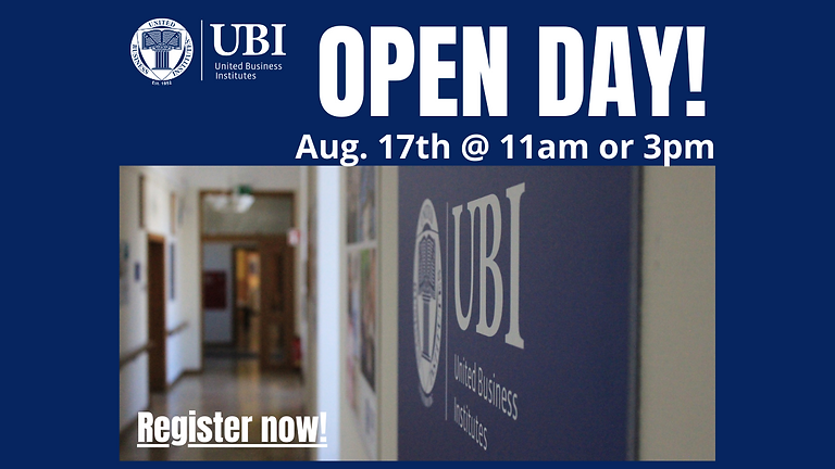 Open Day UBI Luxembourg