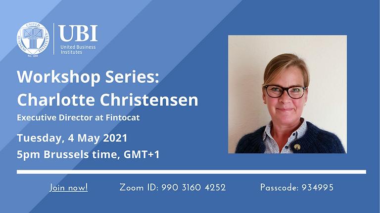 Workshop Series: Charlotte Christensen