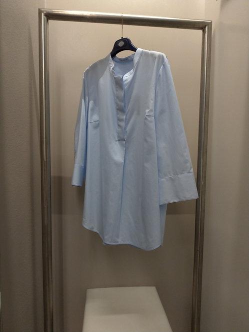Camicia azzurra camicetta snob