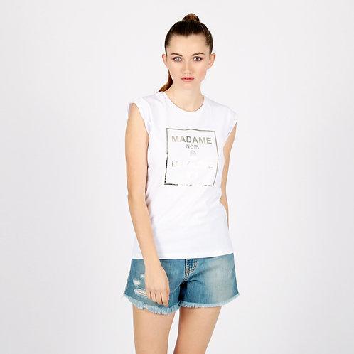 """T-shirt """"Madame Noir"""" Le Voliere"""