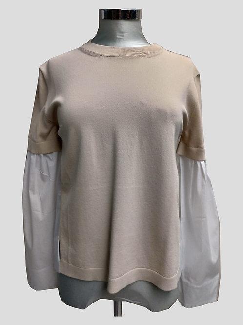 Maglia camicia in viscosa Liviana Conti