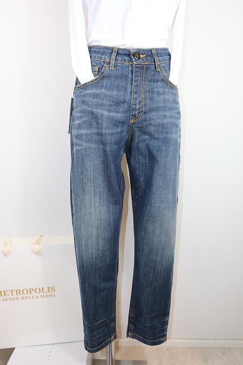 Jeans stonewash a vita alta - Noir 'n Bleu