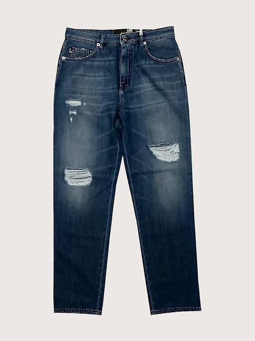 Jeans con rotture Love Moschino
