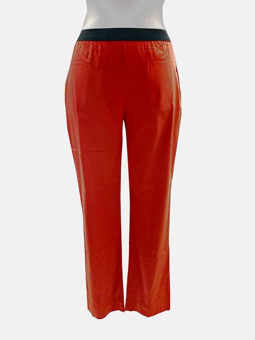 Leggings rosso in popeline Liviana Conti