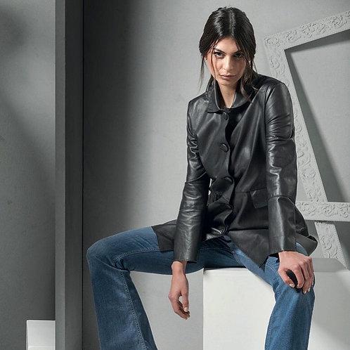 Spolverino nero in nappa - B for Leather