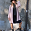 Thumbnail: Cardigan rosa in misto lana - Merci Italia