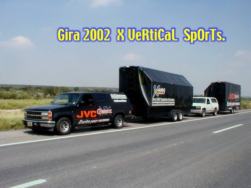 Convoy Remolques X Vertical Sports.