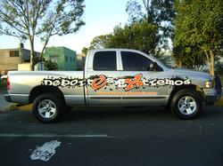 2da. Camioneta Rotulada.