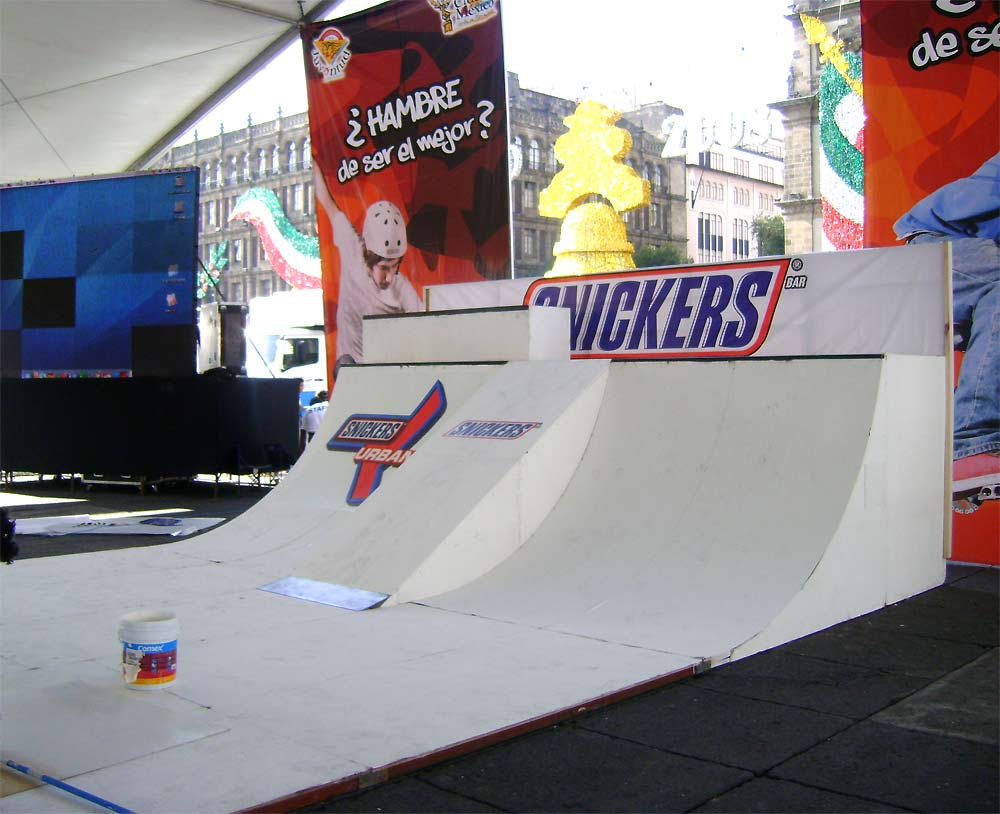 Mini Ramp Snickers