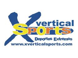 1er. Logo de X Vertical Sports.
