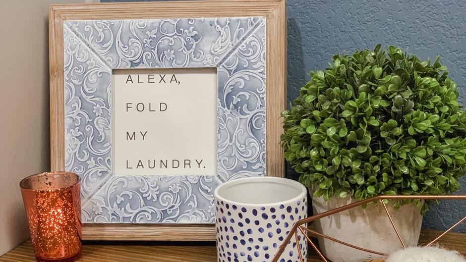 Alexa, upgrade my laundry room