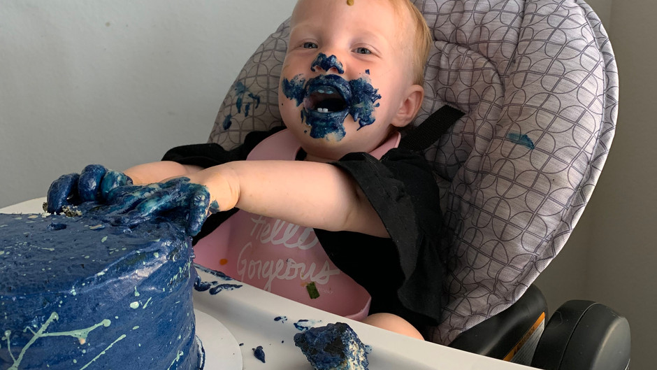 Our unexpected first birthday celebration
