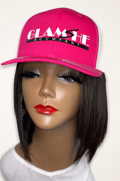 White GlamShe Hat