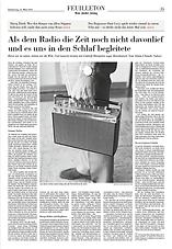 Alain C. Sulzer Als dem Radio die Zeit noch nicht davonlief und es uns in den Schlaf ...